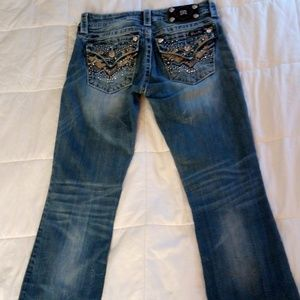 sz 27 signature rise bootcut stretch Miss Me jeans
